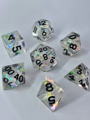 Prismatic Shard 7-Piece Dice Set