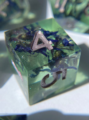 Midnight Sage 7-Piece Dice Set
