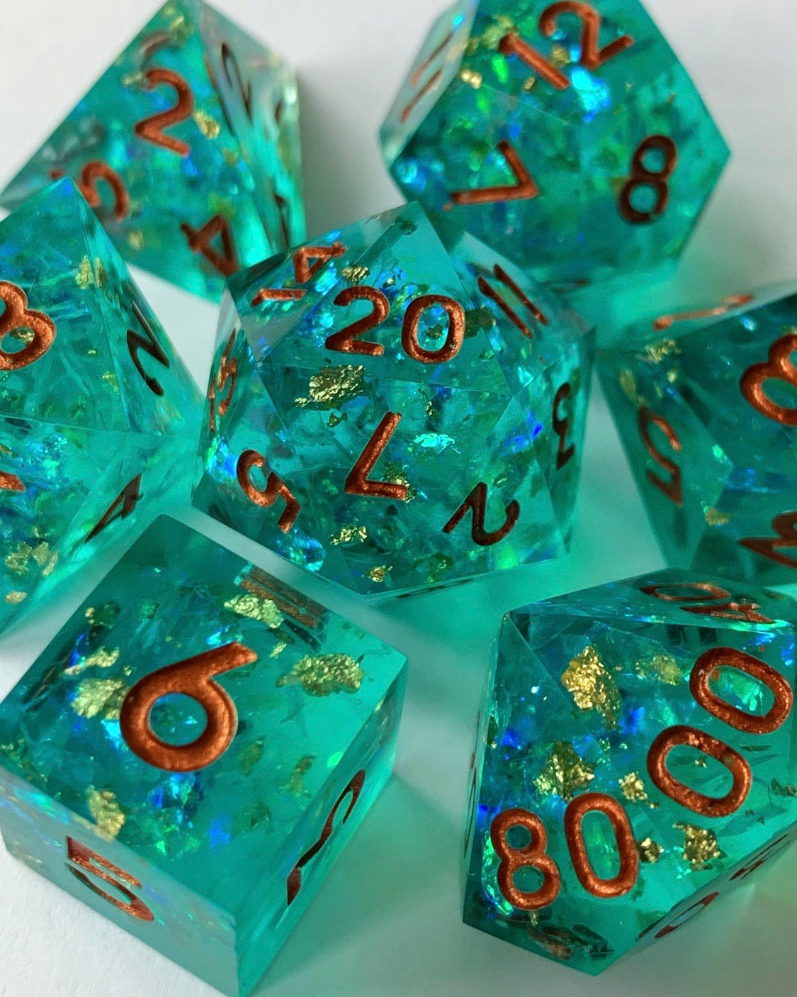 Siren's Song 7-Piece Dice Set