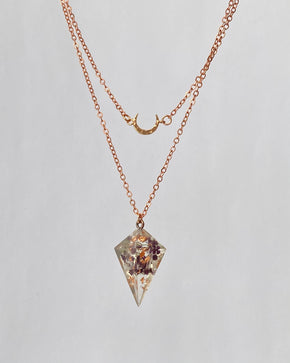 Autumn Hearts Layered Necklace