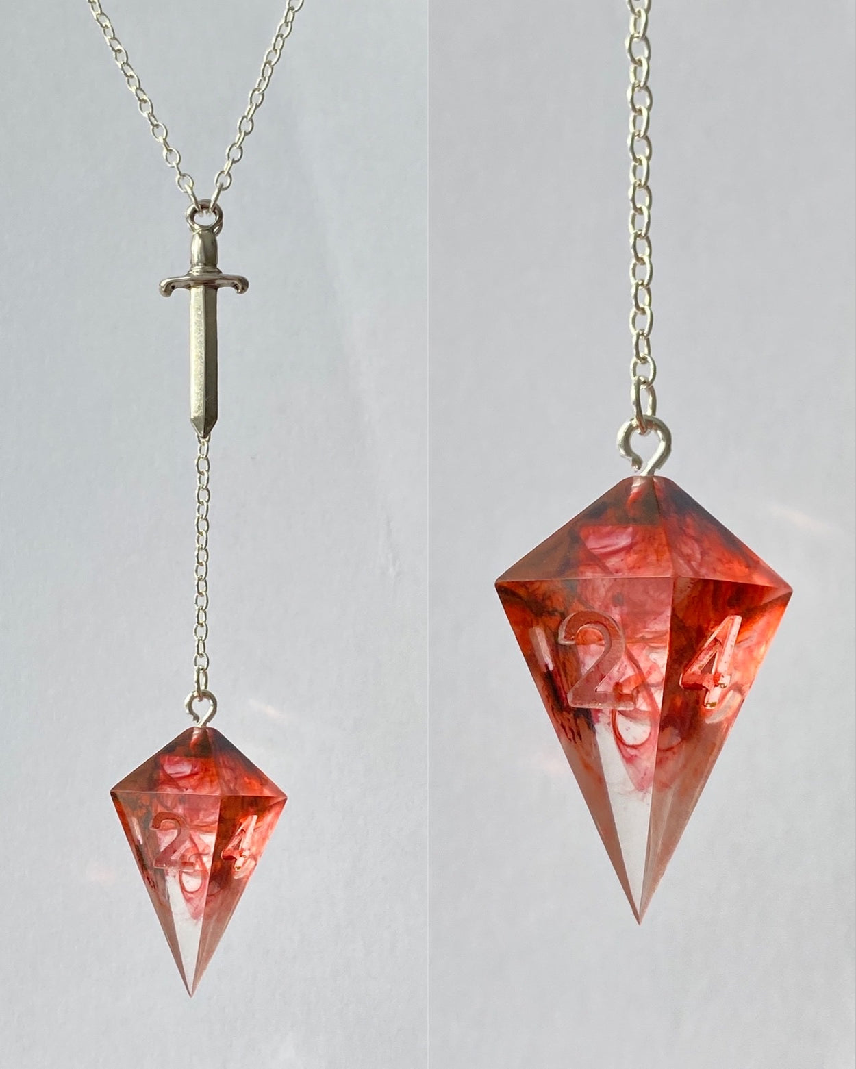 PRE-ORDER: Blood of My Enemies D4 Necklace