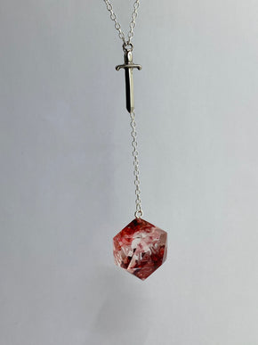 Blood of My Enemies D20 Necklace