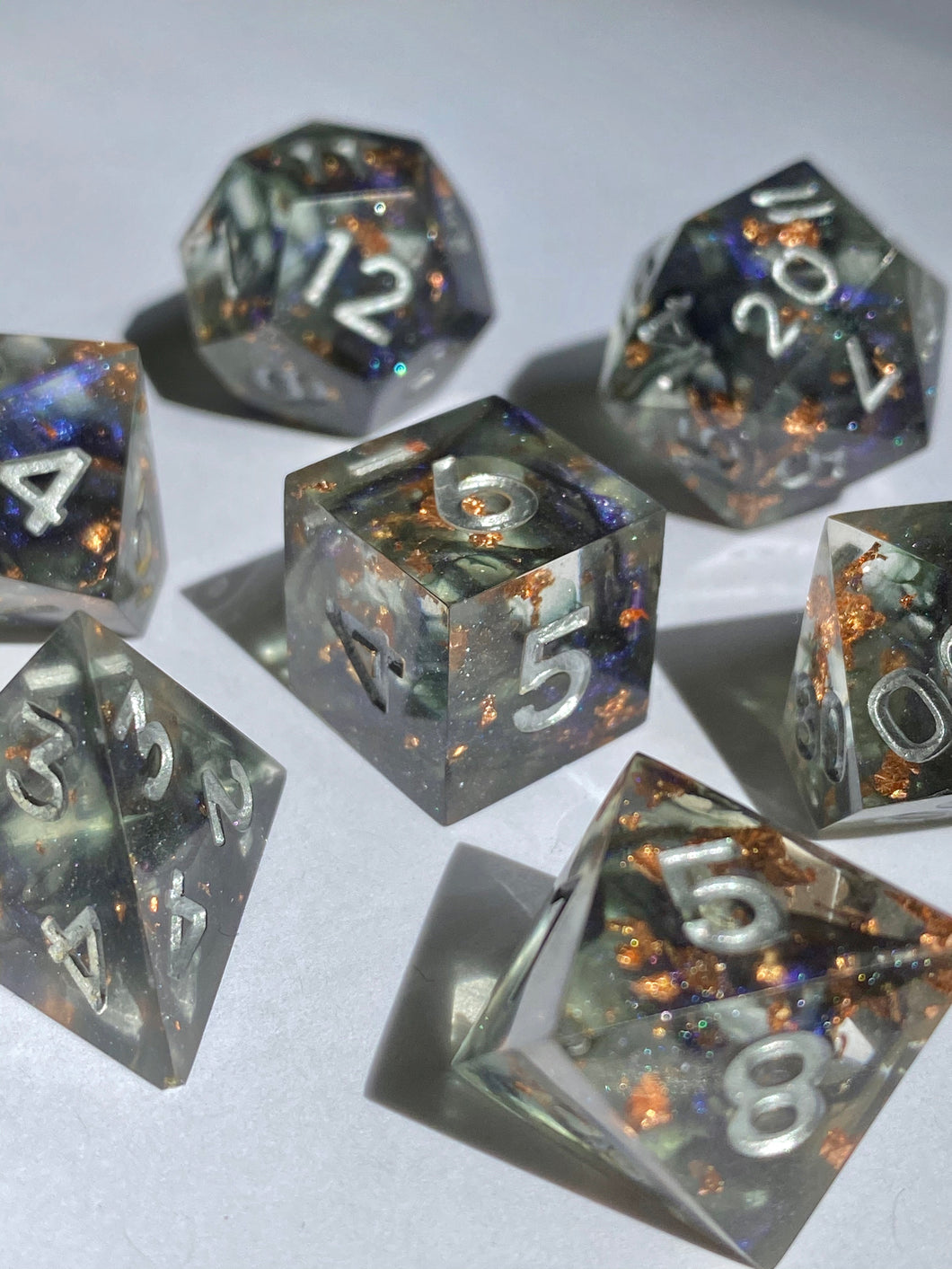 Witching Hour 7-Piece Dice Set