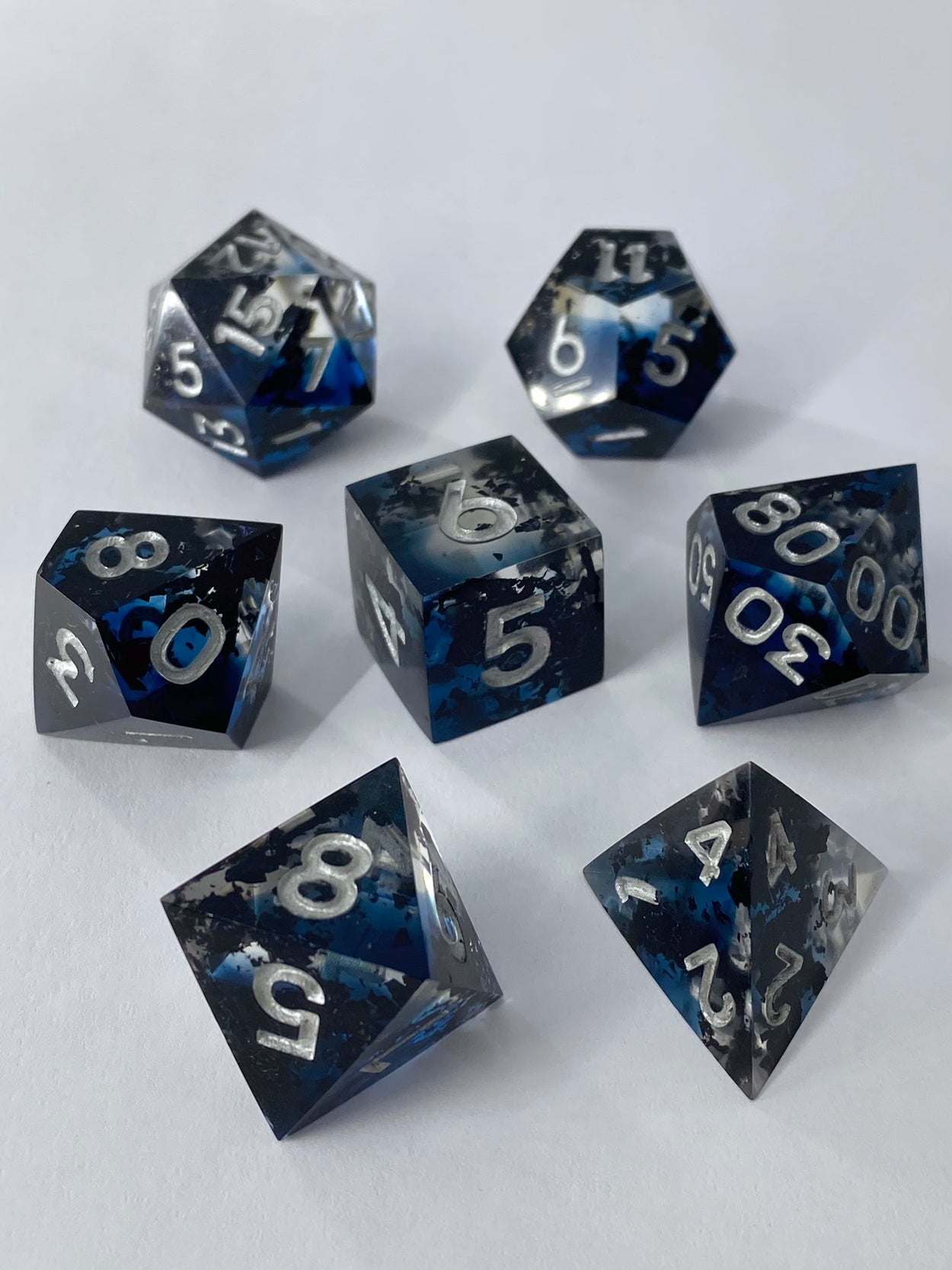 The Abyss 7-Piece Dice Set