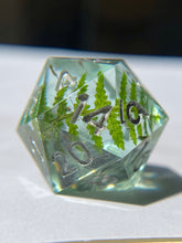 Load image into Gallery viewer, Forest Gems D20 - Silver Ink