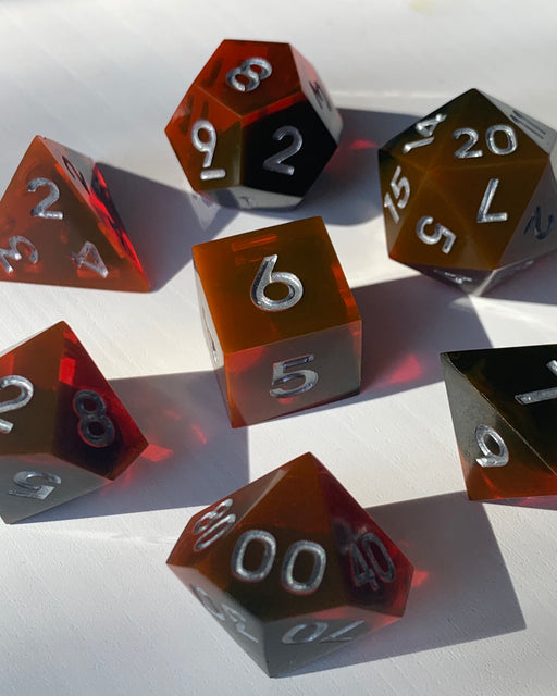 Blood Pact 7-Piece Dice Set
