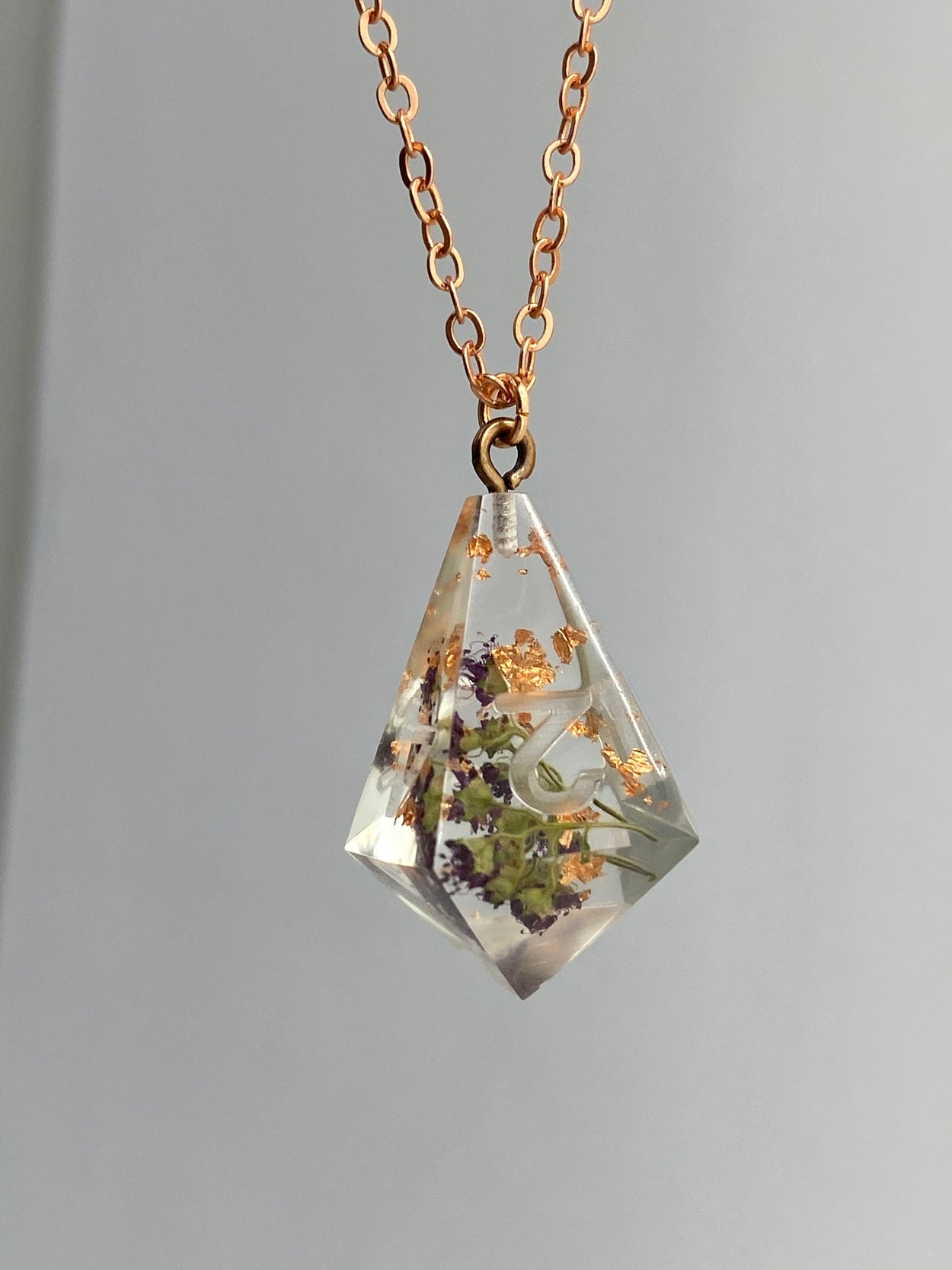Autumn Hearts Layered D4 Necklace