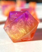 Load image into Gallery viewer, Painted Sky 7-Piece Dice Set