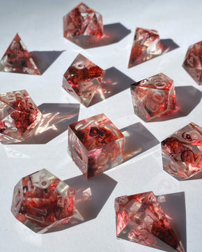 Blood of My Enemies 7-Piece Dice Set