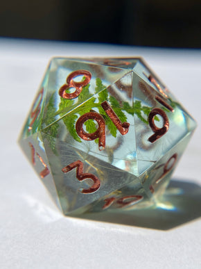 Forest Gems D20 - Copper Ink