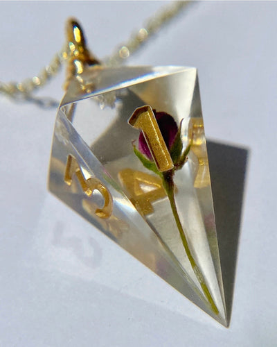 Enchanted Rose D4 Necklace