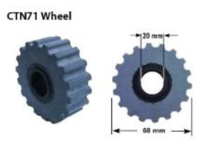 Replacement Hold Down Wheels