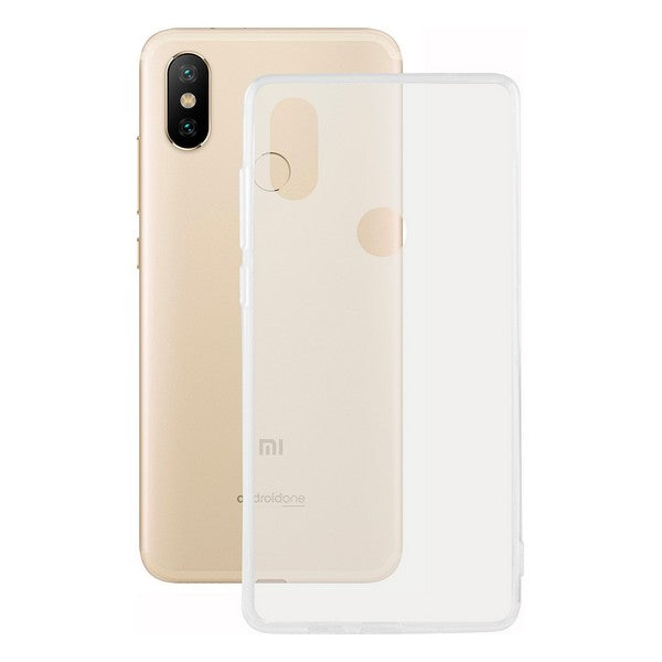 Protection pour téléphone portable Xiaomi Mi A2 Contact Flex TPU Transparent