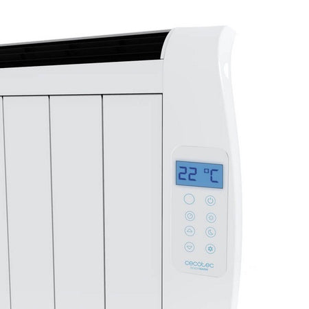 Emetteur Thermique Numérique (8 modules) Cecotec Ready Warm 1800 Thermal 1200W Blanc