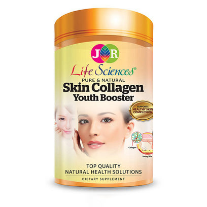 JR Life Sciences Skin Collagen Youth Booster (120 Veg. Caps)