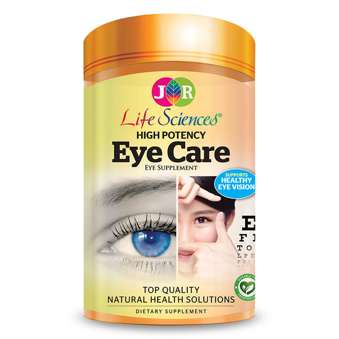 JR Life Sciences High Potency Eye Care (180 Vegetarian Capsules)