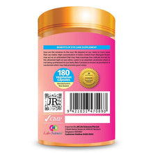 Load image into Gallery viewer, JR Life Sciences High Potency Eye Care (180 Vegetarian Capsules)