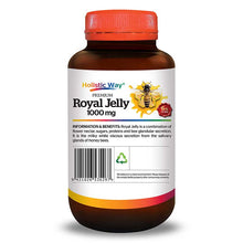 Load image into Gallery viewer, Holistic Way Premium Royal Jelly 1000mg (60 Softgels)
