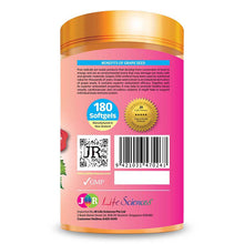 Load image into Gallery viewer, JR Life Sciences High Strength Grape Seed 20,000mg (From Fresh Grape Seed) (180 Softgels)