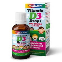 Load image into Gallery viewer, Holistic Way Vitamin D3 Drops (2.8ml)