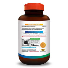 Load image into Gallery viewer, Holistic Way Vitamin B12 1000mcg (Natural Source) (90 Tablets)