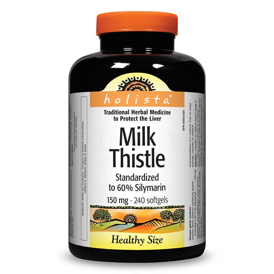 Holista Milk Thistle (240 Softgels)