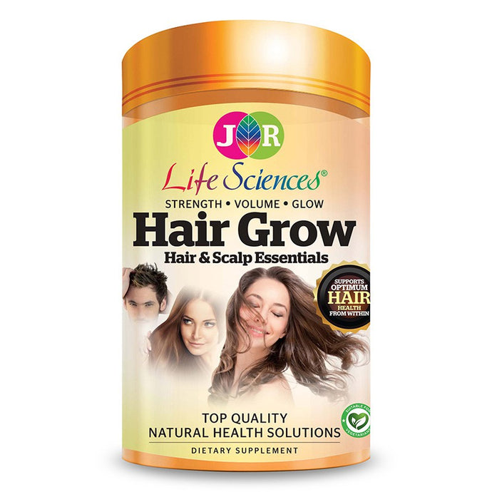 JR Life Sciences Hair Grow (120 Vegetarian Capsules)