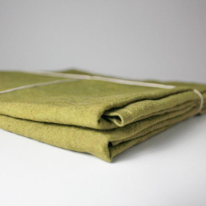 Olive Green Fynbos Pillowcases