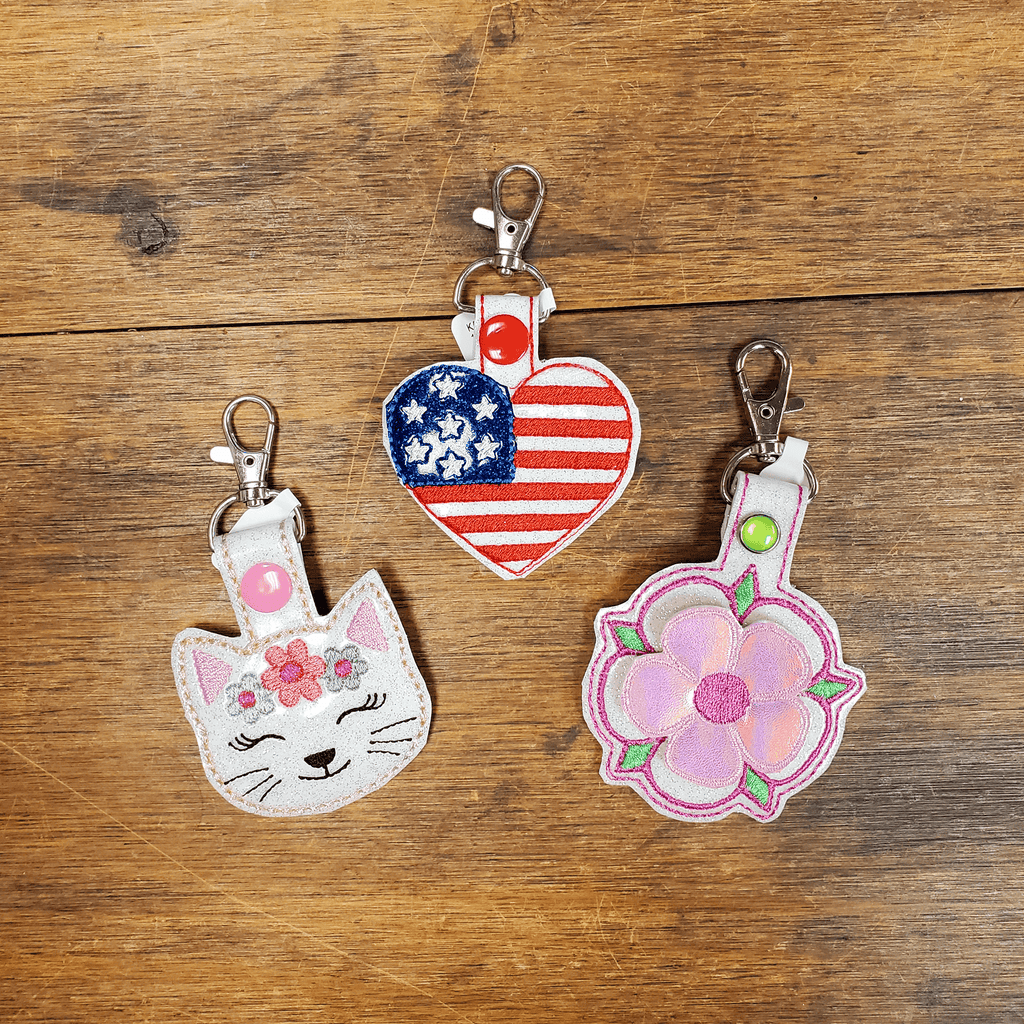 Under the Cherry Blossoms' key fobs