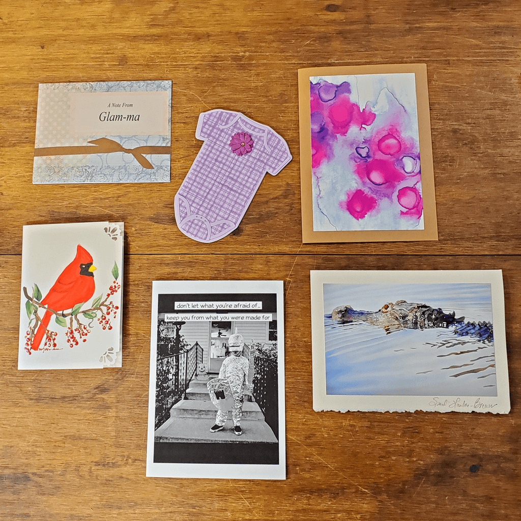 Under the Cherry Blossoms' Cards products