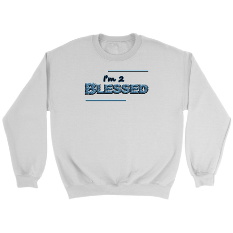 """Blessed"" Crewneck Sweatshirt"