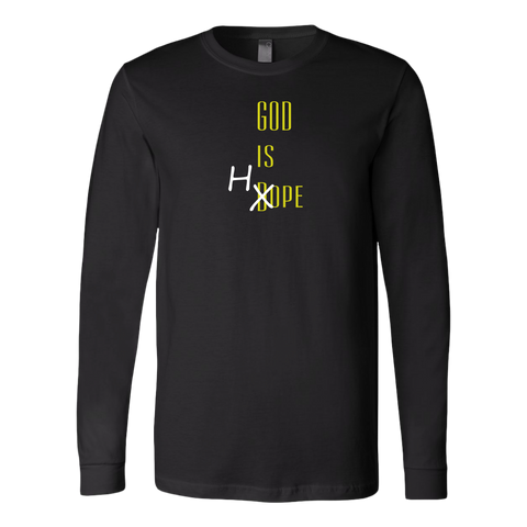 """God Is Hope"" Long Sleeve Shirt"