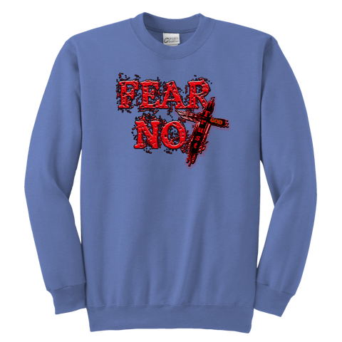 """Fear Not"" Youth Crewneck Sweatshirt"
