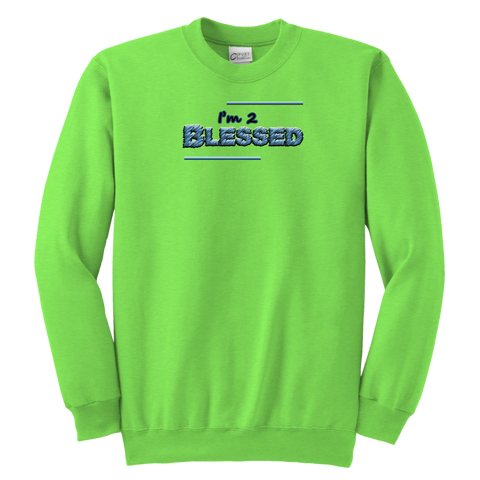 """Blessed"" Youth Crewneck Sweatshirt"
