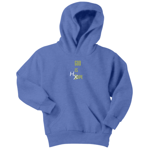 """God Is Hope"" Youth Hoodie"