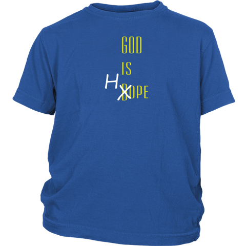 """God Is Hope"" Youth Shirt"