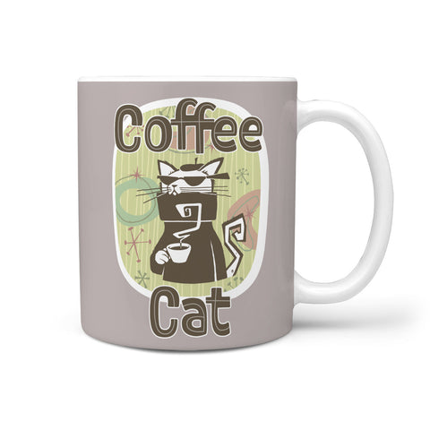 Cool Coffee Cat Mug