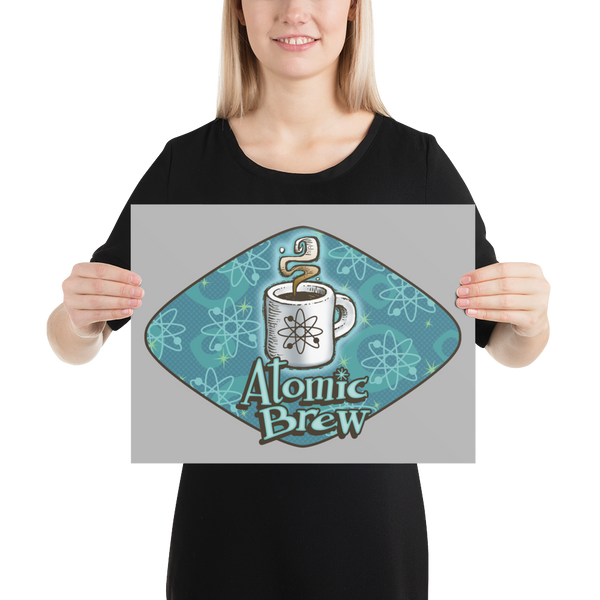 Atomic Brew Photo paper poster