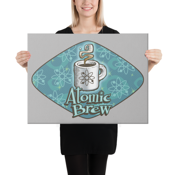 Atomic Brew Canvas Print