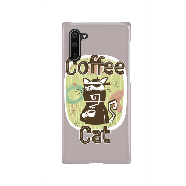 Coffee Cat Custom Phone Case