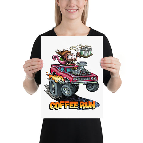 Coffee Run Poster