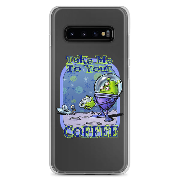 Green Alien Samsung Case