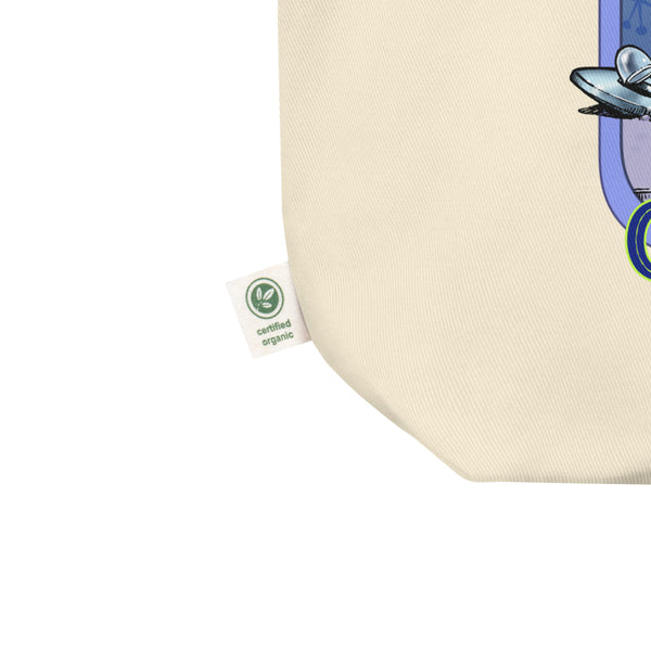 Green Alien Eco Tote Bag