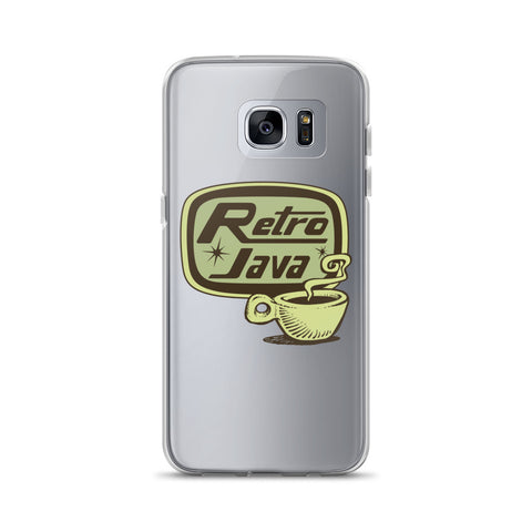Retro Java Samsung Case