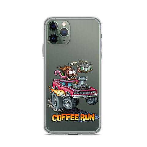 Coffee Run iPhone Case