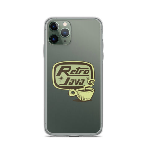 Retro Java iPhone Case