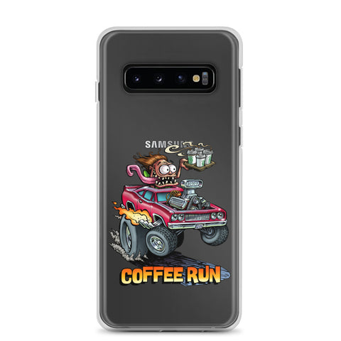 Coffee Run Samsung Case
