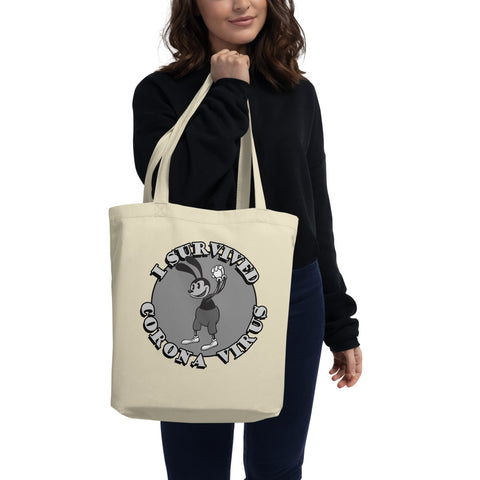 I Survived Corona 2 Eco Tote Bag