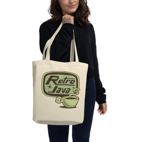 Retro Java Eco Tote Bag