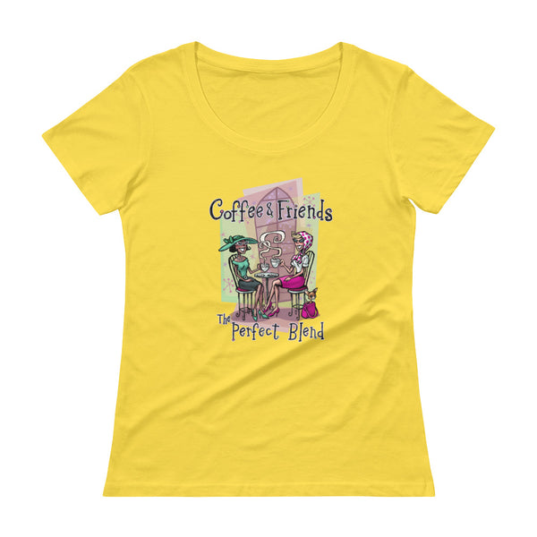 Perfect Blend Ladies' Scoopneck T-Shirt